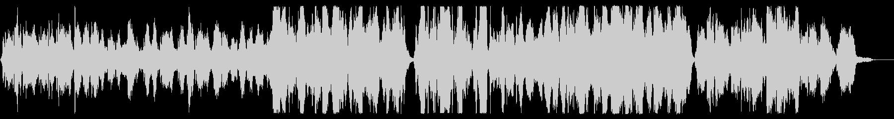 二つのチェロとピアノの抒情的な挿入歌 の未再生の波形