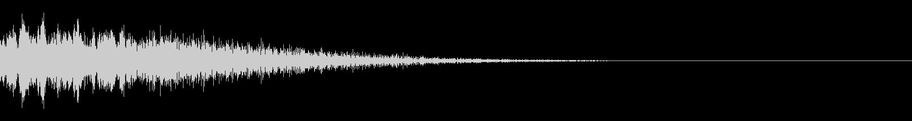 ピユーン(エフェクト_パワーダウン)の未再生の波形