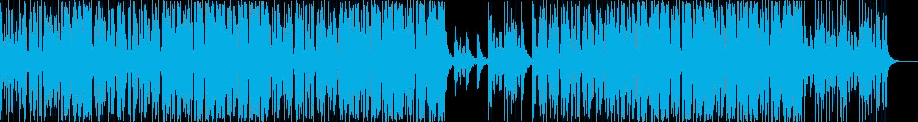 明るく楽しい爽やかボーカルchopEDMの再生済みの波形