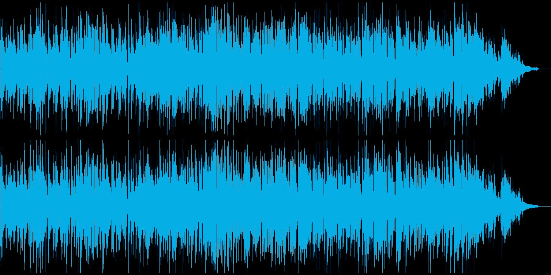 爽やかな大人のジャズ、お洒落なスイングの再生済みの波形