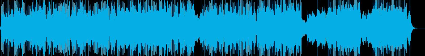 戦闘スタート・激しいオーケストラ 長尺の再生済みの波形
