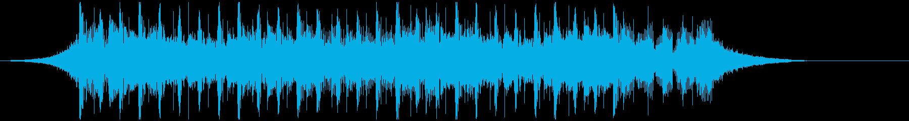 インテリジェント(ショート2)の再生済みの波形