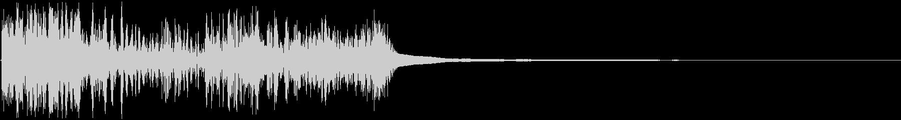 ガシュシュン(ボタン・レバー・打撃音)の未再生の波形