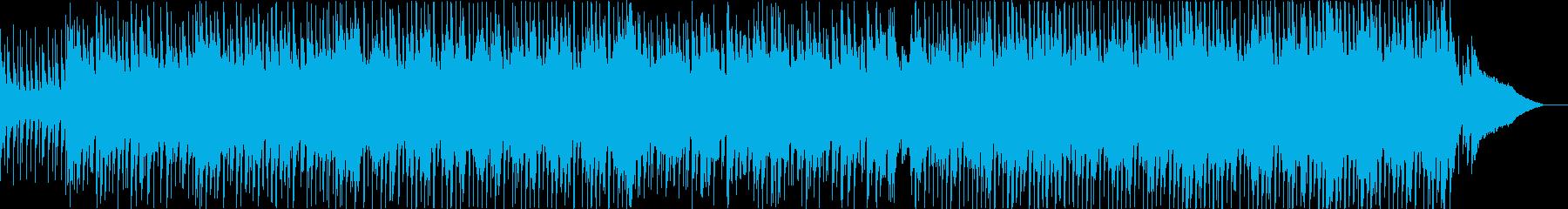ピアノ、ギター、感動的なBGM、企業VPの再生済みの波形