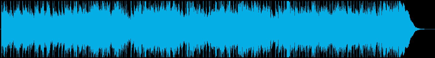 ほのぼのとした日常を感じるチェロのBGMの再生済みの波形
