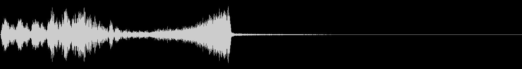 ヒットザップとリターンの未再生の波形