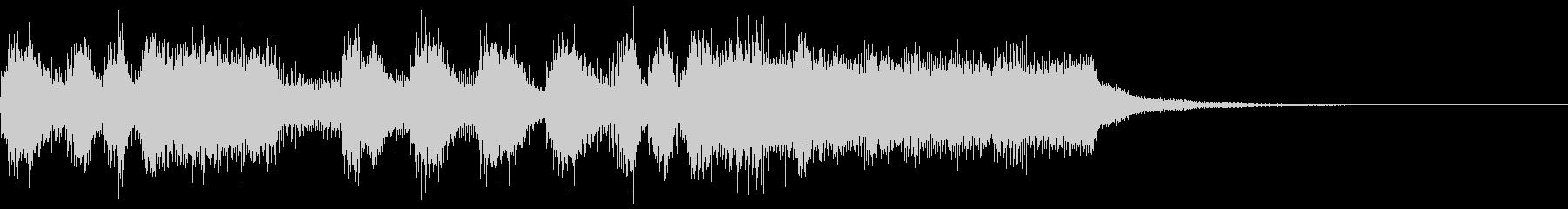 シンプルなファンファーレ4 パンパカパンの未再生の波形