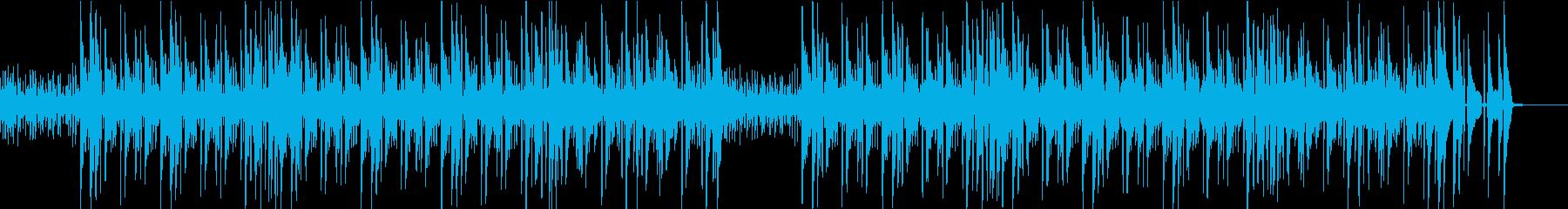 シンプルで軽快なジャズの再生済みの波形