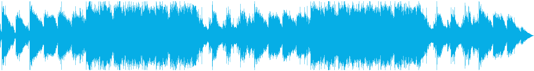 ダンジョンを彷彿させるエスニック音楽の再生済みの波形