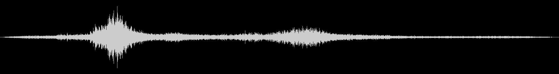 ローラーコースター:パスバイアンド...の未再生の波形