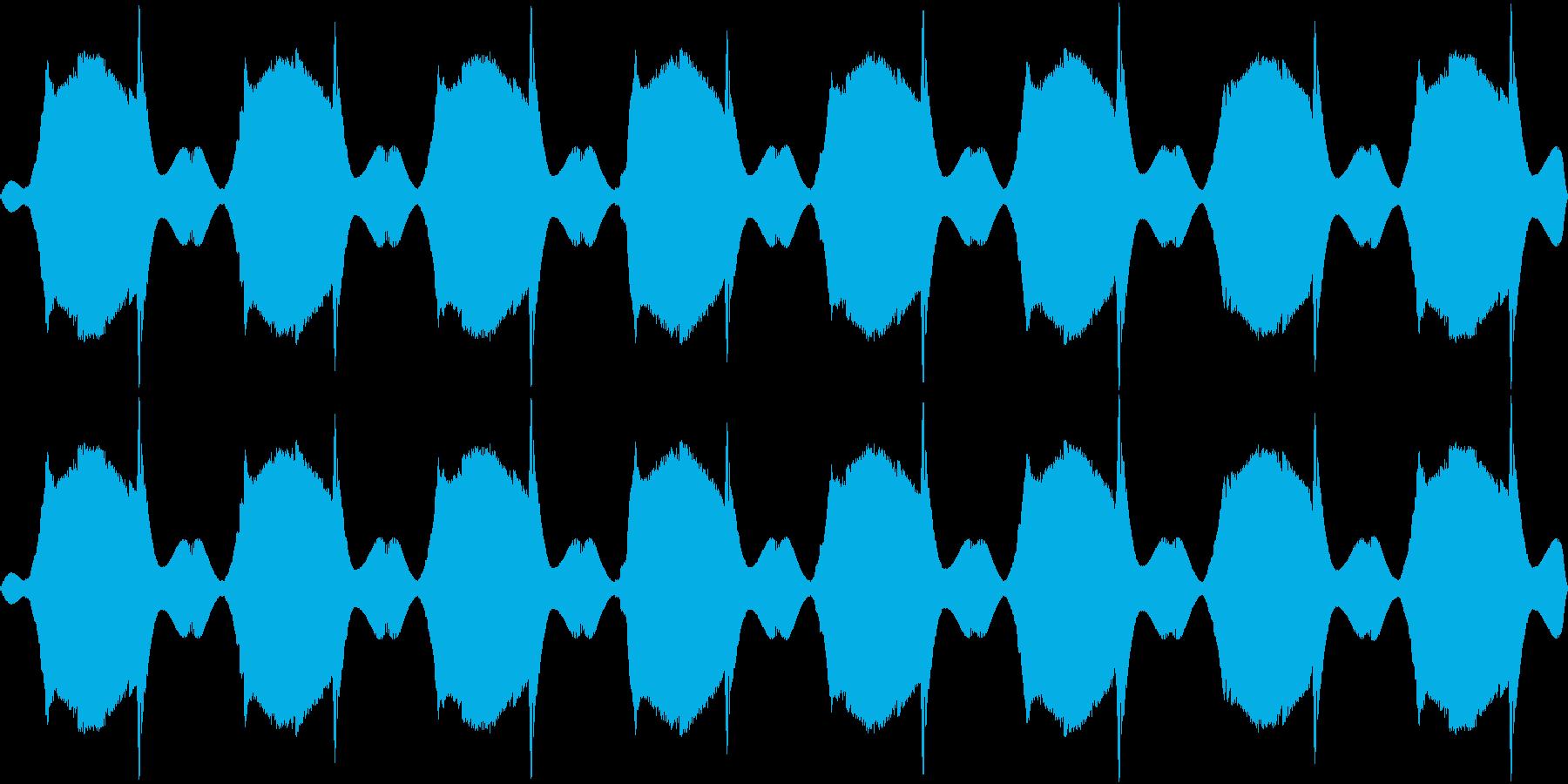 Toy Alarm おもちゃのサイレン音の再生済みの波形