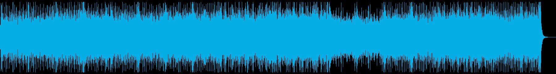 和楽器・和風・サムライロック:フルx1の再生済みの波形
