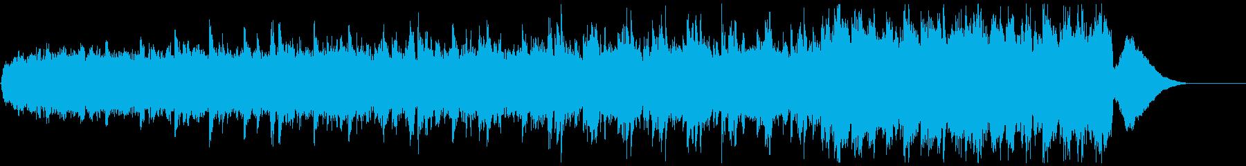 背景音 サスペンス 5 の再生済みの波形