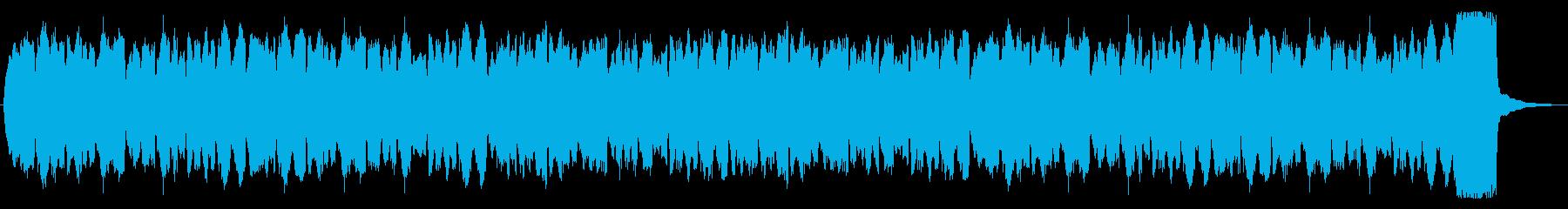 パイプオルガンの奏でる悲しい旋律の再生済みの波形
