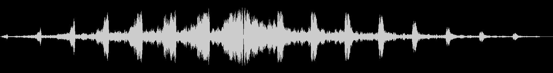 キュワンキュワン(謎の飛行物体)の未再生の波形