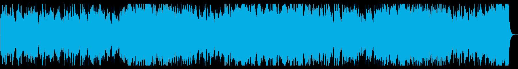 悲しい・壮大・ストリングス・バラードの再生済みの波形