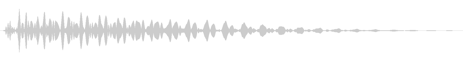 PureTouch アプリ用タッチ音69の未再生の波形