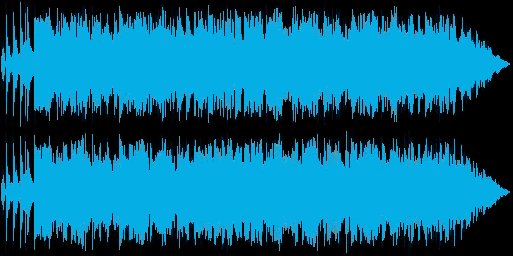 爽やかなポップスのバイオリンジングルの再生済みの波形