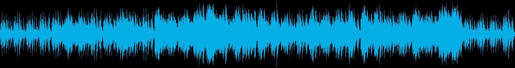 ファンタジー系の民族音楽(ループ可)の再生済みの波形
