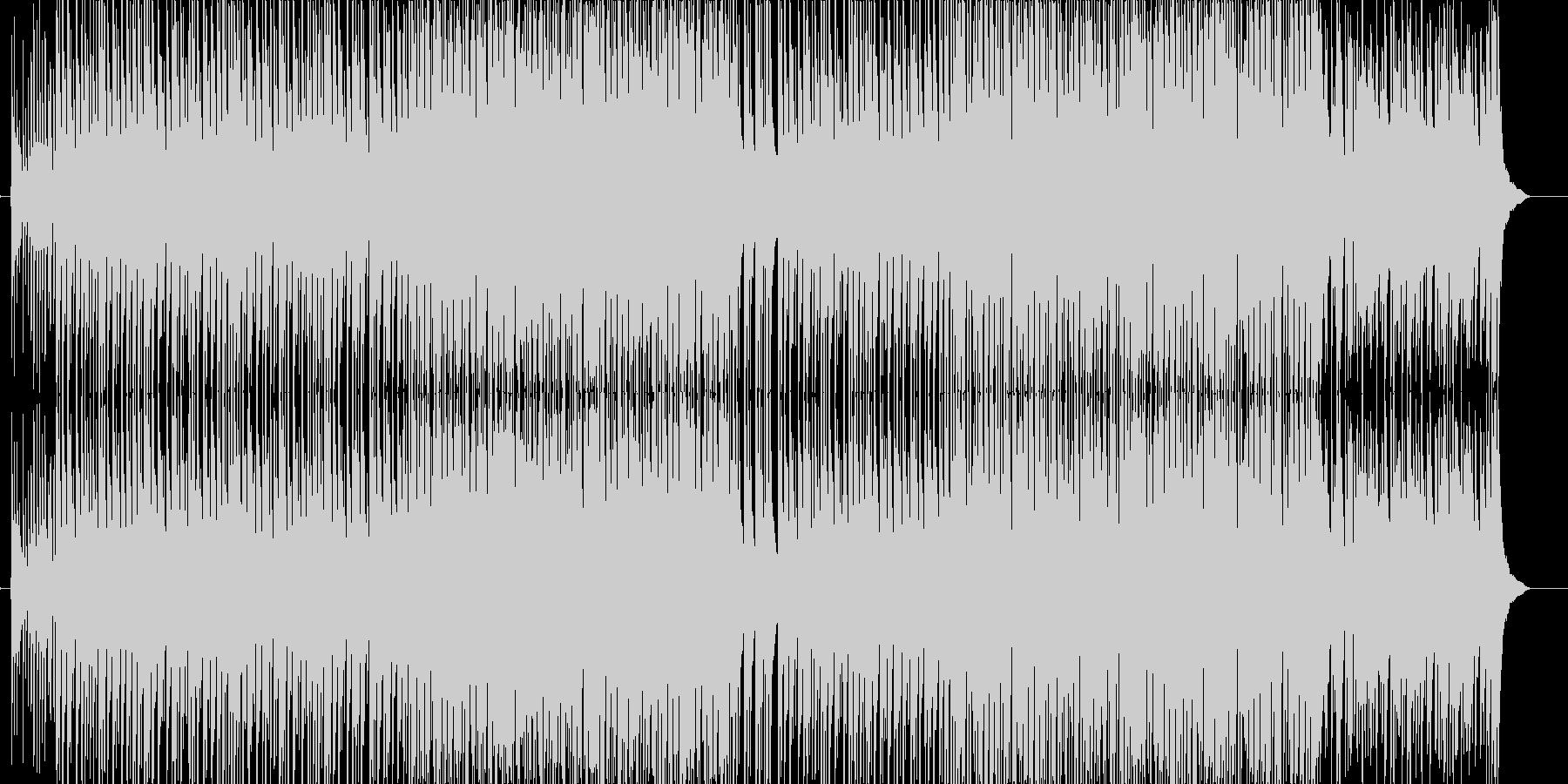 ど真ん中!太鼓と三味線が熱い曲(声なし)の未再生の波形