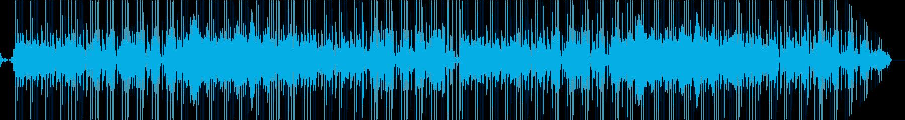 ほのぼの陽気な雰囲気のポップスの再生済みの波形