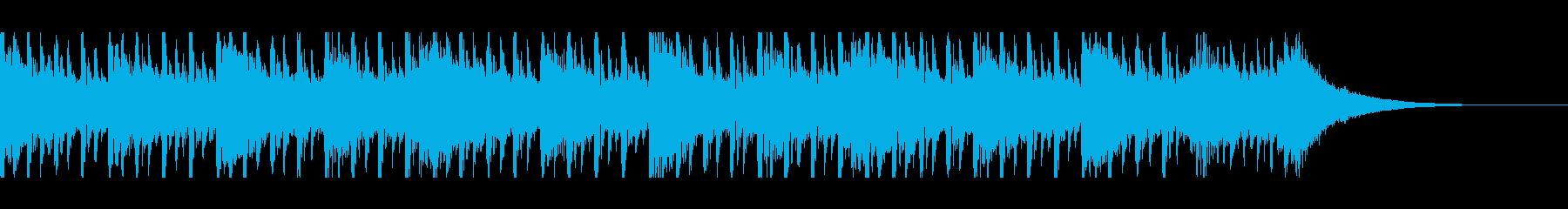 ソフト企業面接(30秒)の再生済みの波形
