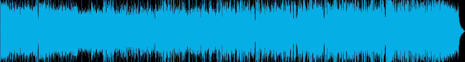 アイドル系ポップロックなボーカル曲です。の再生済みの波形