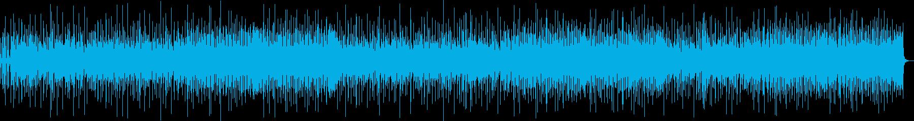 ポップロック。ギターのリフ、エネル...の再生済みの波形