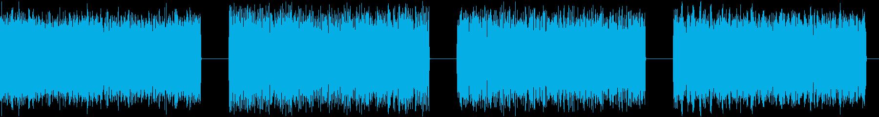 ノイズ、ロング、4バージョン、干渉...の再生済みの波形