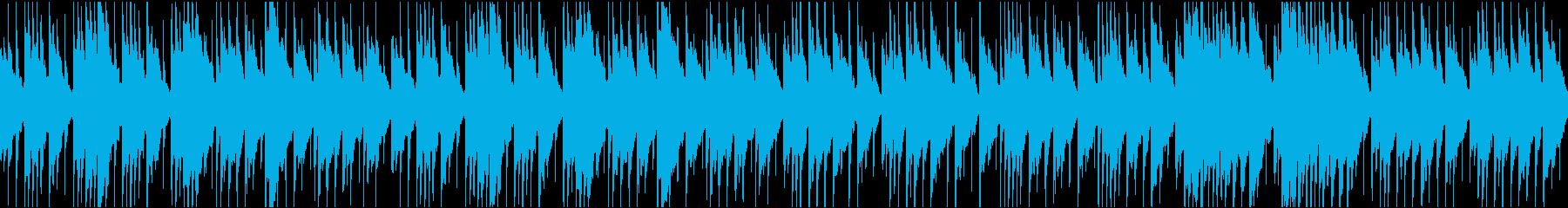 日常・シュミレーション・家の中での会話の再生済みの波形