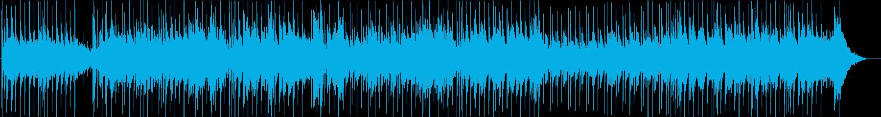 夏の夕暮れの海岸 アコギフュージョンの再生済みの波形