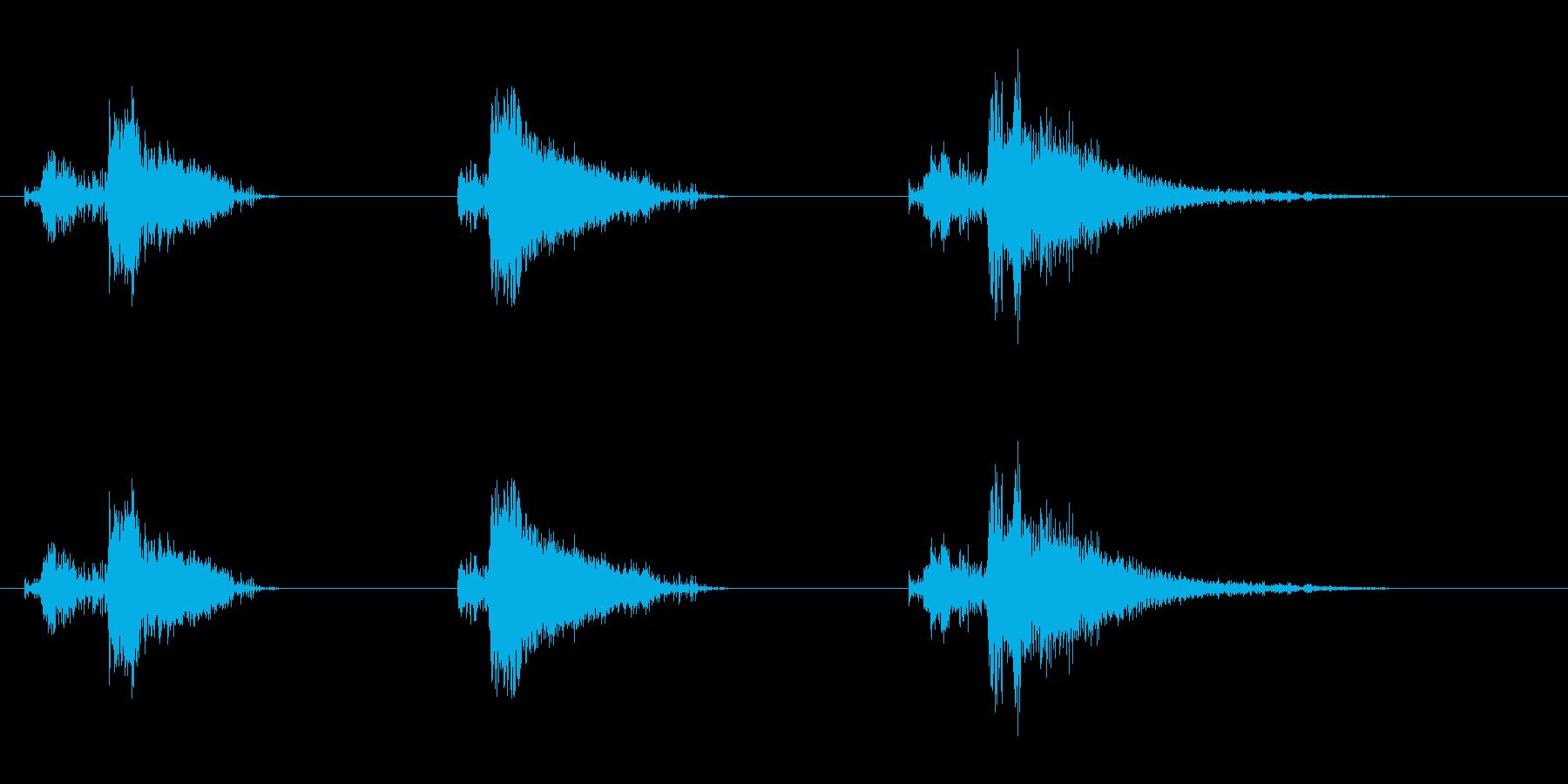 爆発23の再生済みの波形