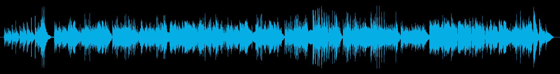 ギターとアコーディオンのデュオによる楽…の再生済みの波形
