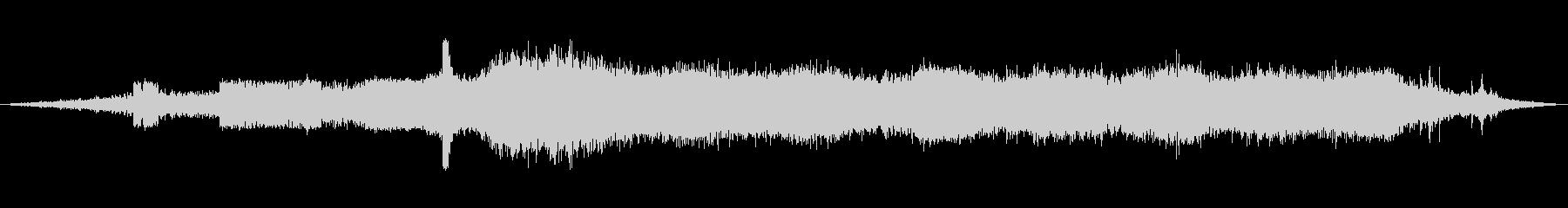ディーゼルトレインは、エアブレーキ...の未再生の波形