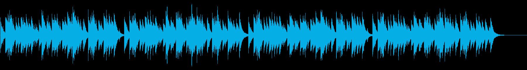 お正月 72弁オルゴールの再生済みの波形