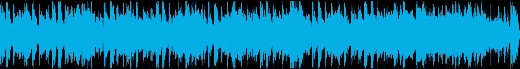 サックスとグルーヴィなバンドサウンドの再生済みの波形