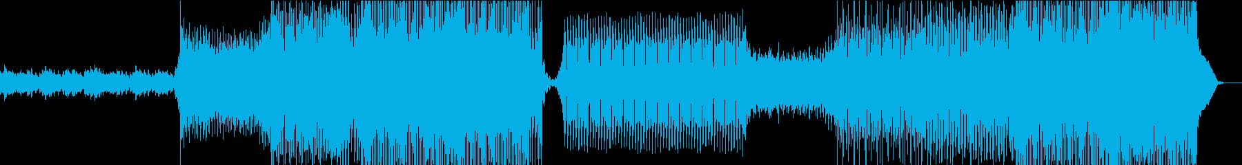 爽やかで清涼感ある心地いいEDMの再生済みの波形