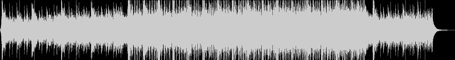 バトル系オーケストラ+ヒップホップの未再生の波形