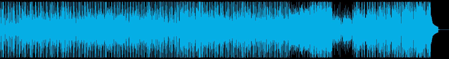 明るくほのぼのとしたポップスの再生済みの波形