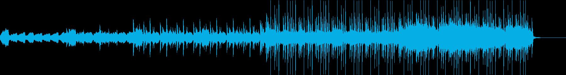 ストリングスの打ち込みが印象的なバラードの再生済みの波形