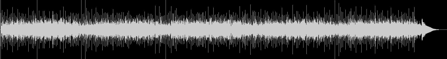 アコギによるリラックスできるヒーリング曲の未再生の波形
