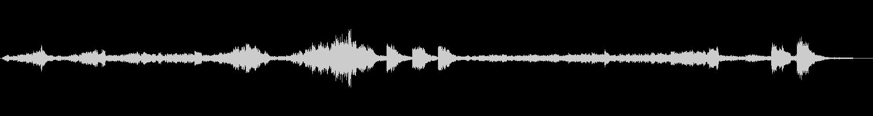 ショパンの練習曲12-9深刻そうな曲の未再生の波形