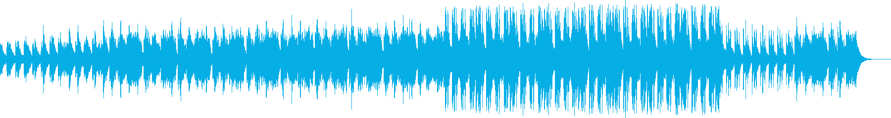 映像、CM、緊迫感ののあるエレクトロニカの再生済みの波形