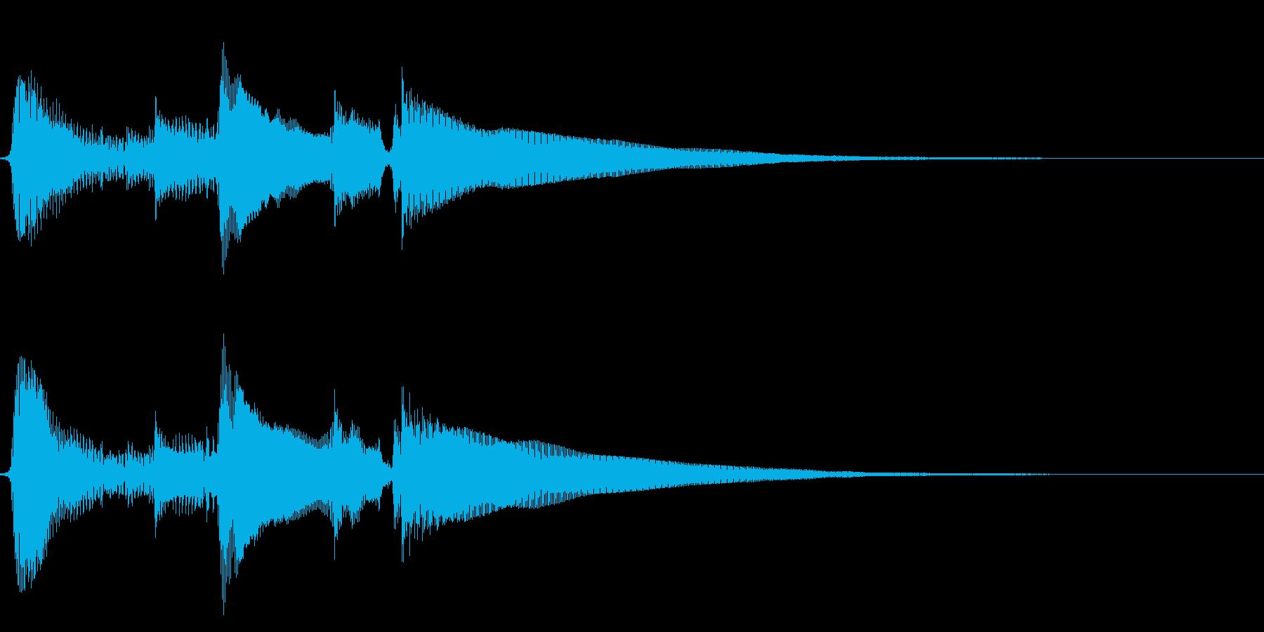 ★アコギ生音のジングル/切ないの再生済みの波形