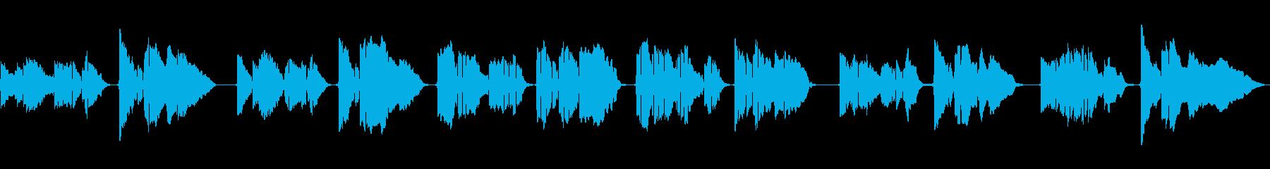 SAXのソロ演奏 抒情詩のようなメロの再生済みの波形