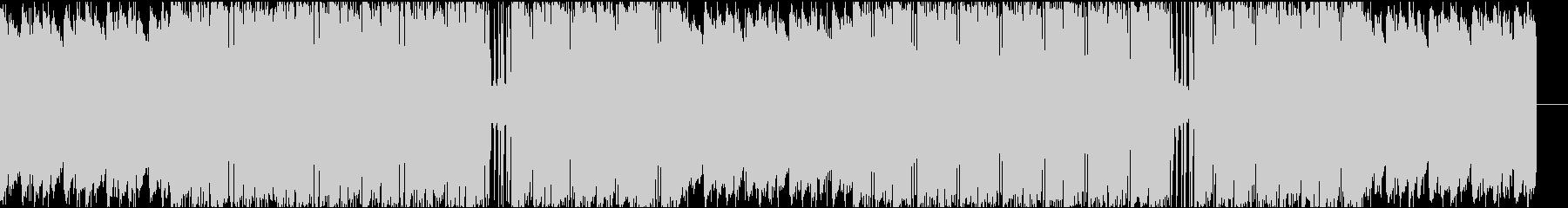 ローファイ、チルアウト、ヒップホップの未再生の波形