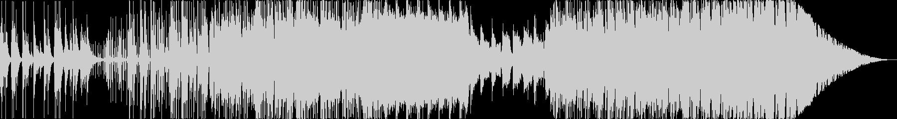 三味線メインの和風インスト曲ですの未再生の波形