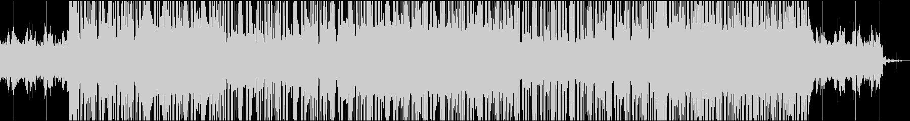ダークでレトロなトラップビートの未再生の波形