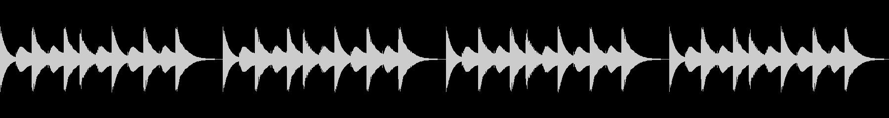 スマホ風着信音2の未再生の波形