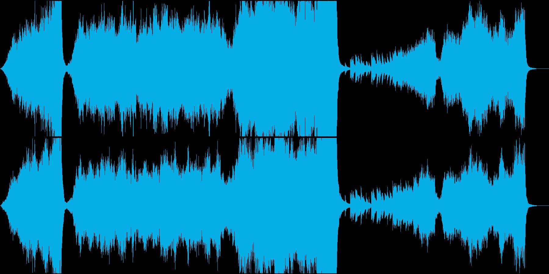 ヴァイオリンとラブロマンスとバラードの再生済みの波形